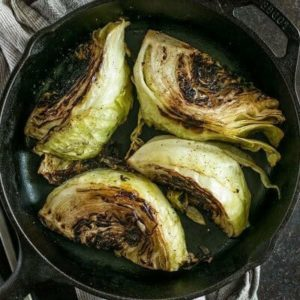 Charred Cabbage