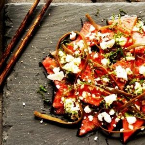 watermelon & feta salad recipe